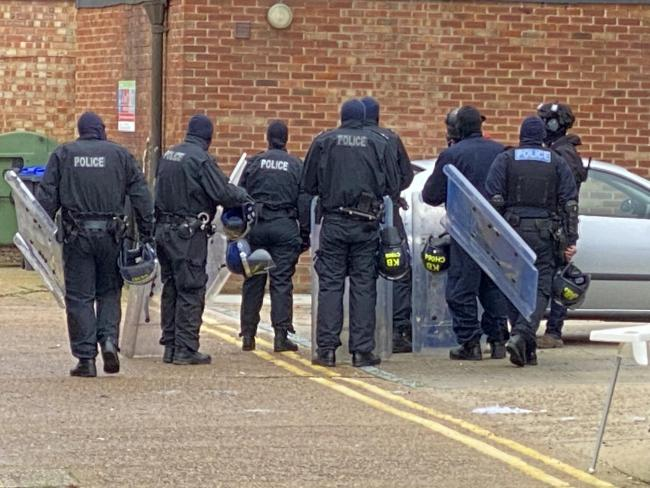 Six-hour police stand-off in Broadwater Street West in Worthing