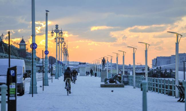 Weather: Alert forecasts snow in Brighton and Sussex