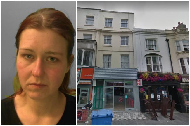Bohdana Krcmova was jailed for stalking in Western Road, Hove