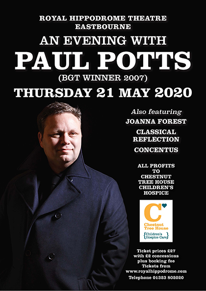 An Evening with Paul Potts