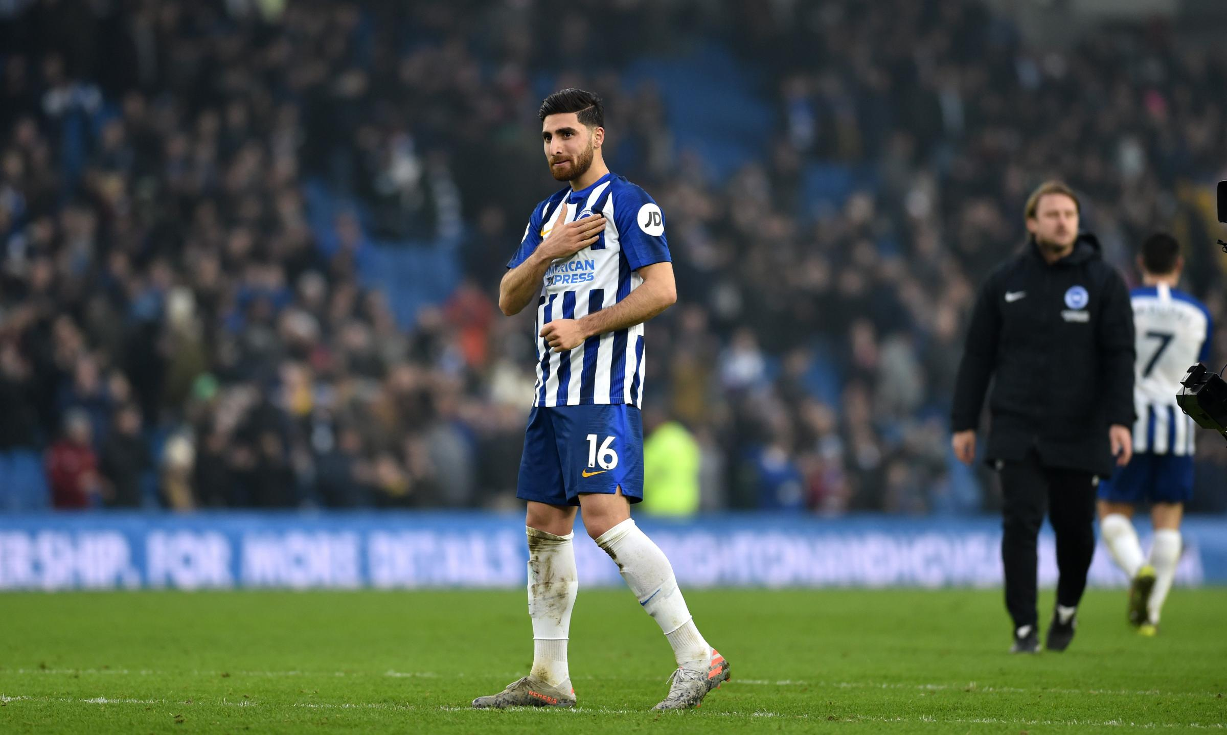 Alireza Jahanbakhsh says Albion are not thinking about the drop