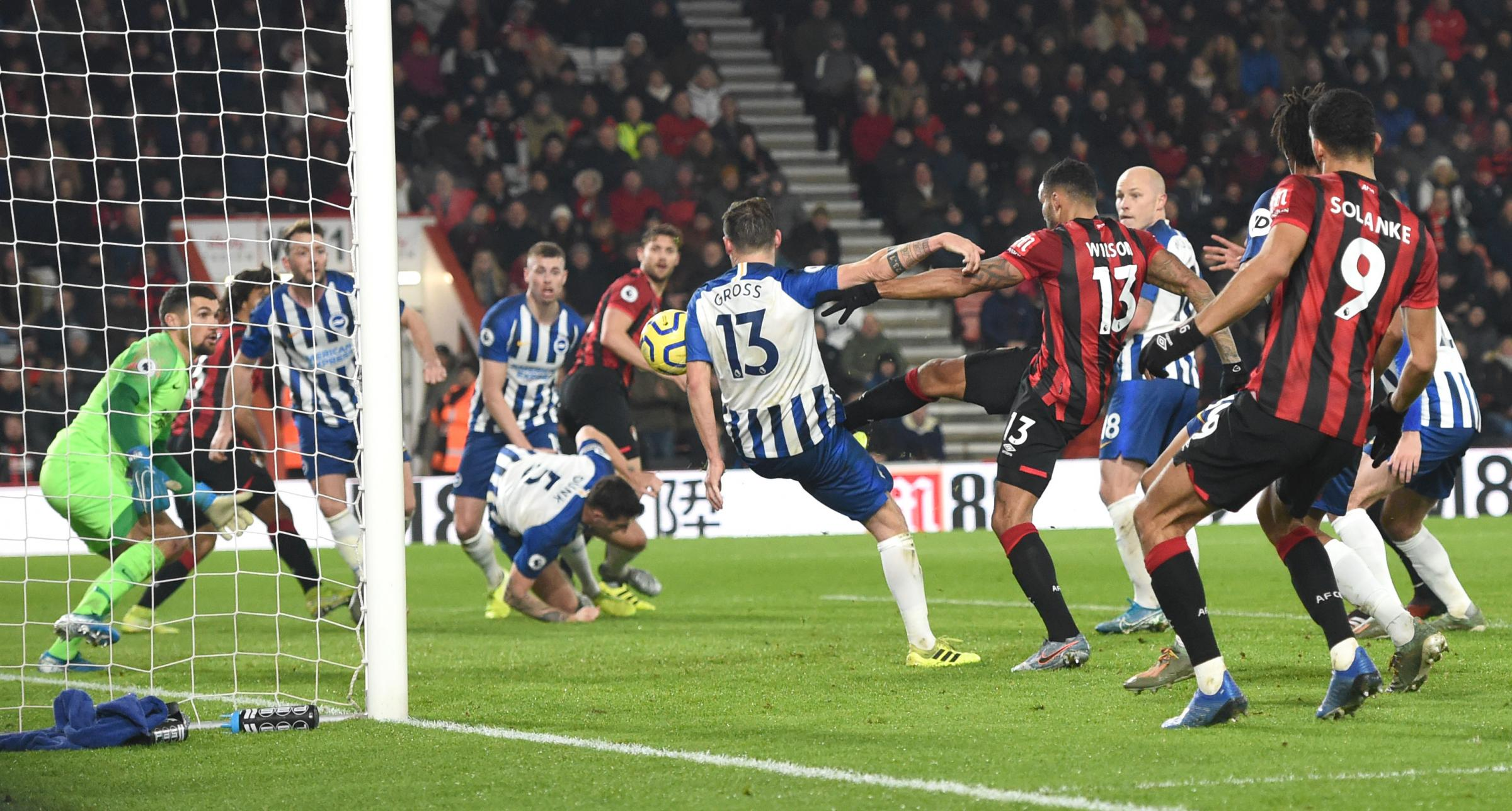 Follow Albion in action against Bournemouth: Wilson makes it 3-0