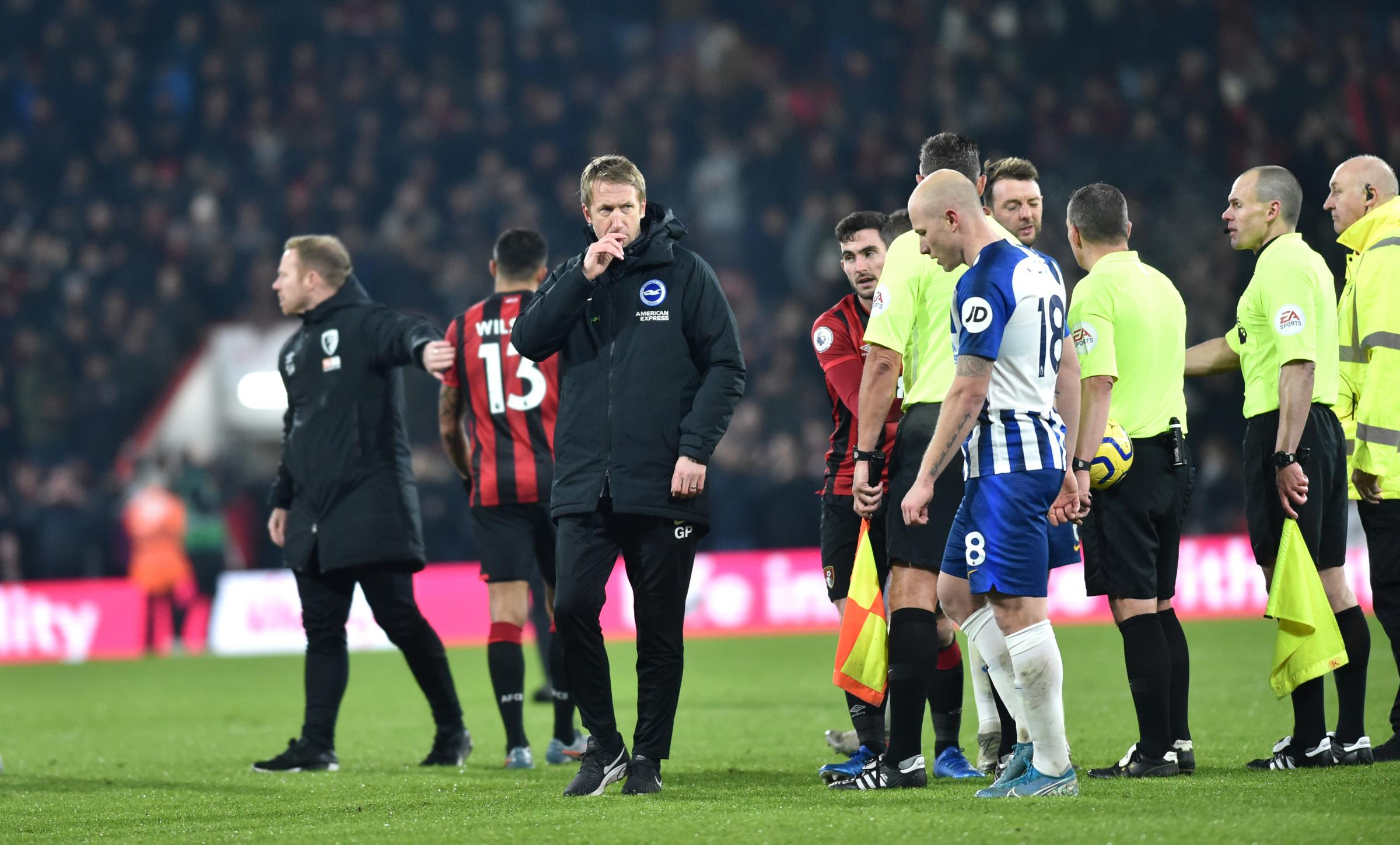 Albion boss Graham Potter blames 'five minutes of madness' for costly defeat