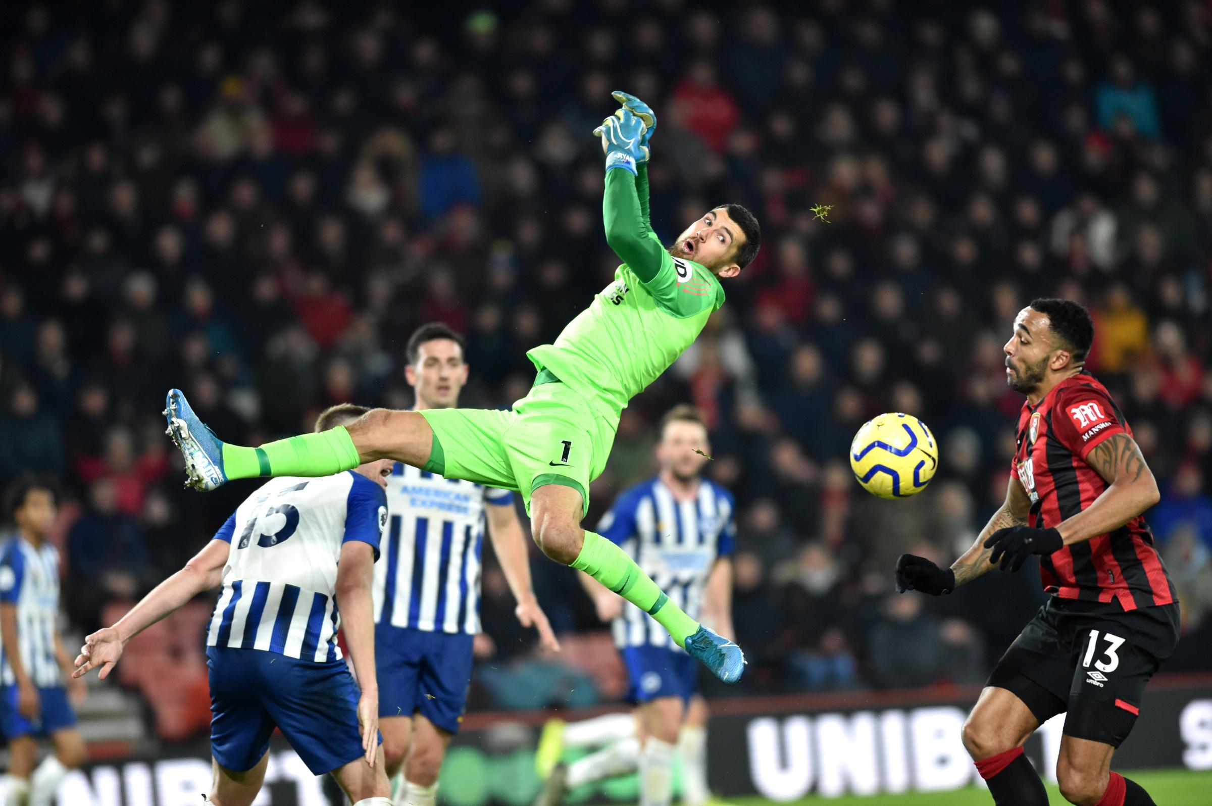 Defeat at Bournemouth increases Albion's relegation concerns