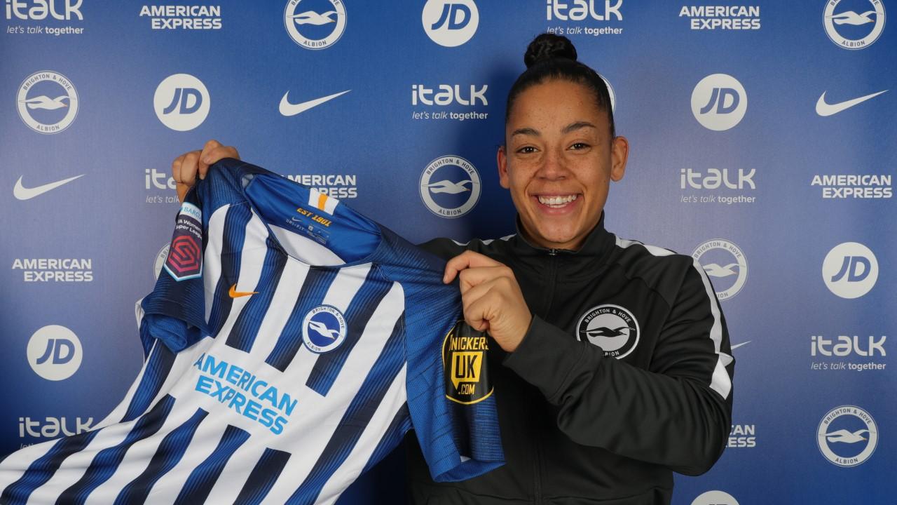 Albion sign international striker