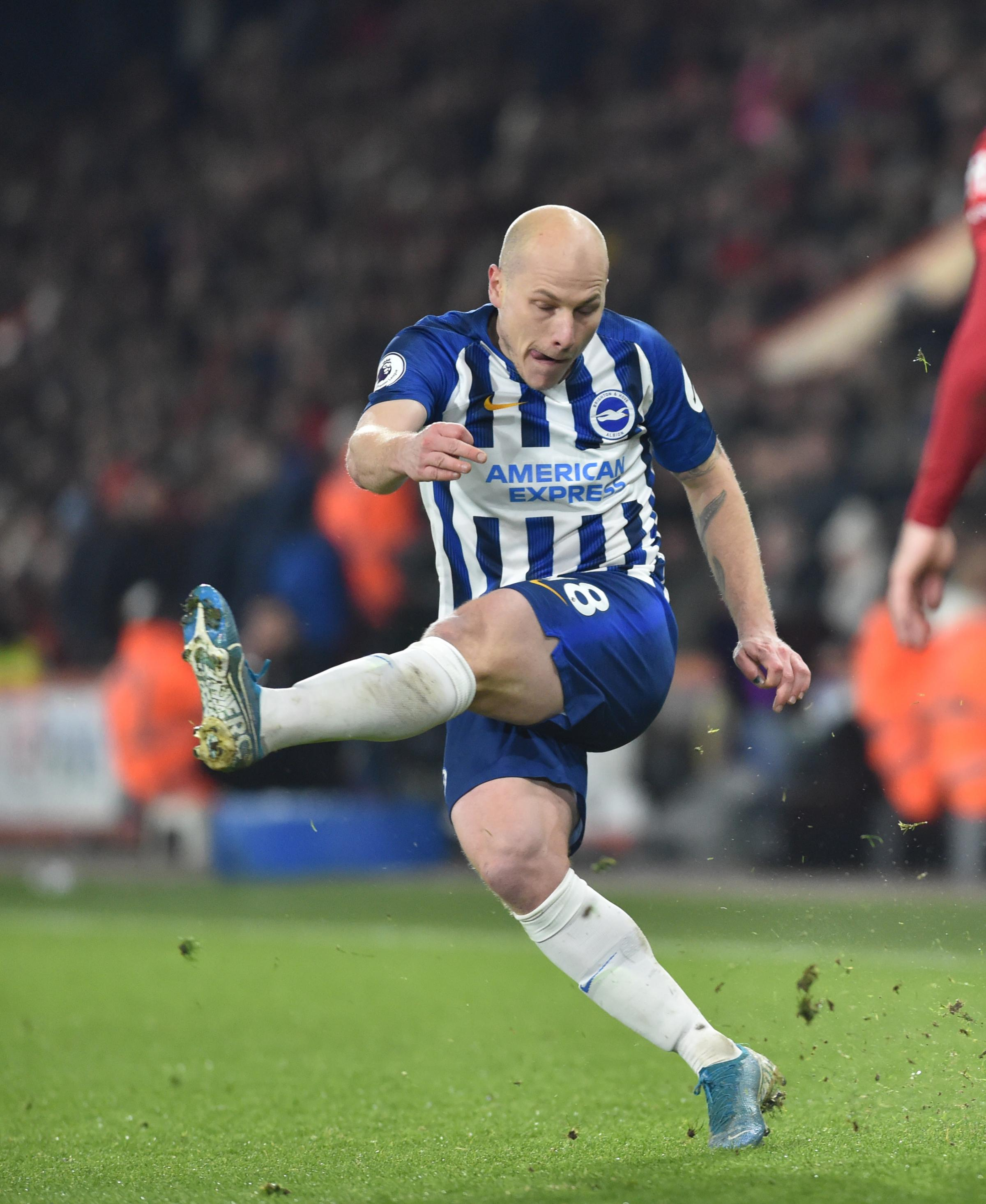 Relegation battles are nothing new to Aaron Mooy