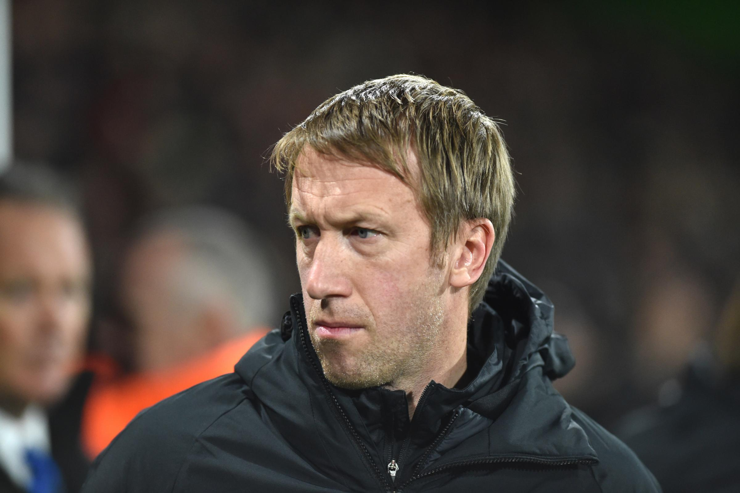 Graham Potter vows to stick to his beliefs to get Albion out of trouble