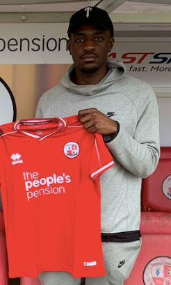 Manny Adebowale has signed for Crawley Town. Picture: CTFC