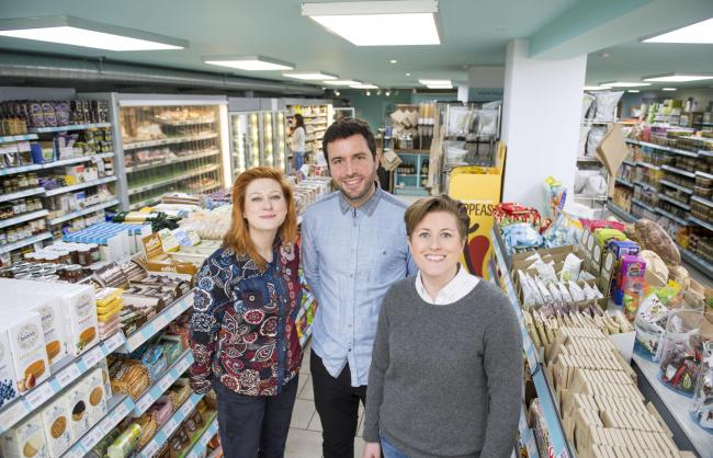 Hisbe founders Ruth Anslow, Jack Simmonds, and Amy Anslow, want to build a second supermarket in Worthing