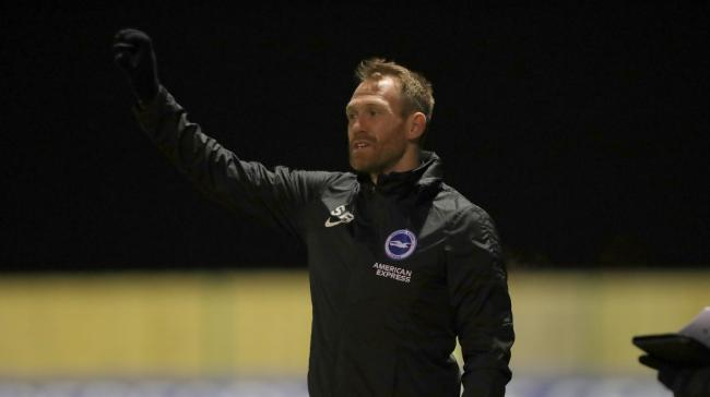 Simon Rusk has built a strong reputation with Albion's development squad. Picture: BHAFC/PaulHazlewood