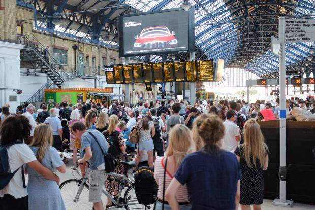 The Argus: Passengers facing rail disruption before the pandemic hit