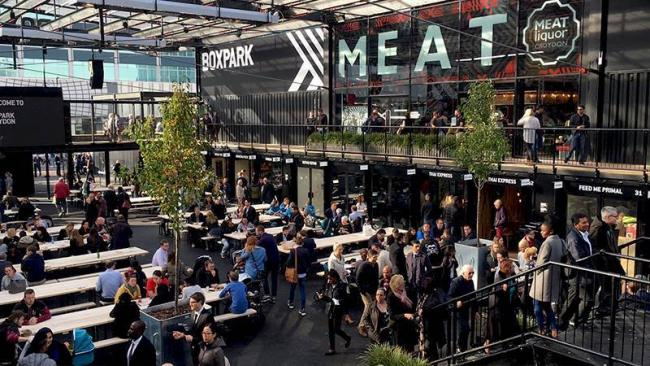 Boxpark in Wembley