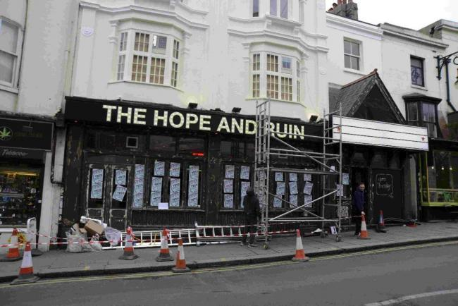 The Hope and Ruin in Brighton