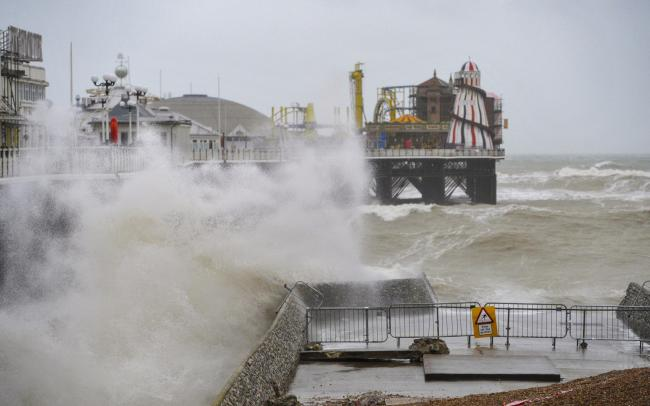 Storm Dennis to hit Brighton: high winds and heavy rain expected