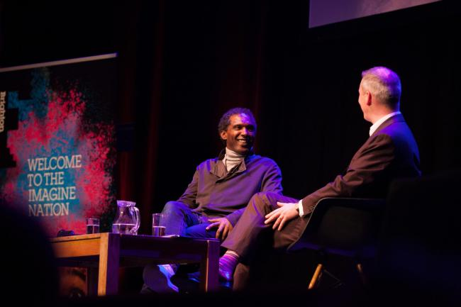 Lemn Sissay and Andrew Comben