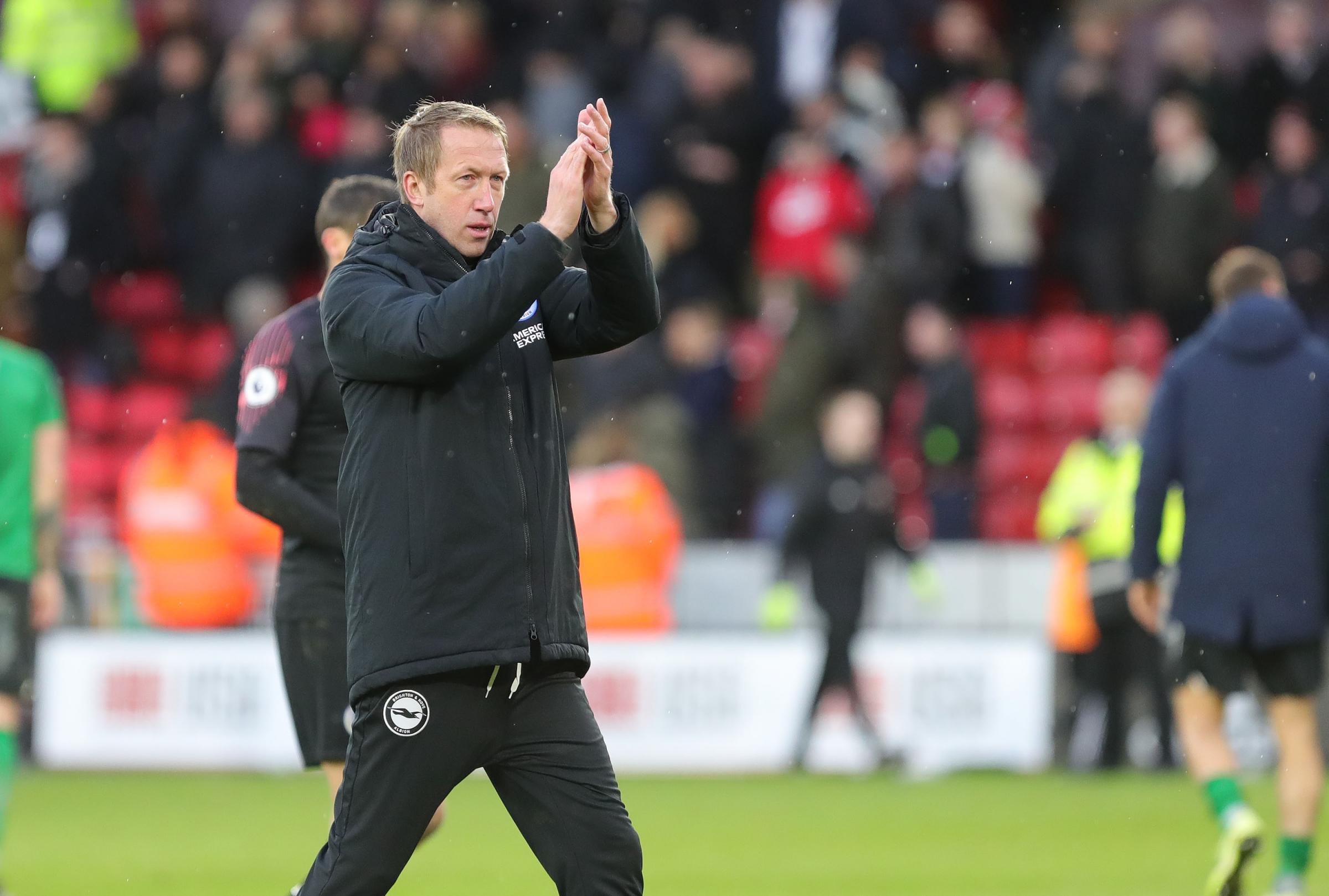 Graham Potter hopes for return of fans to Premier League