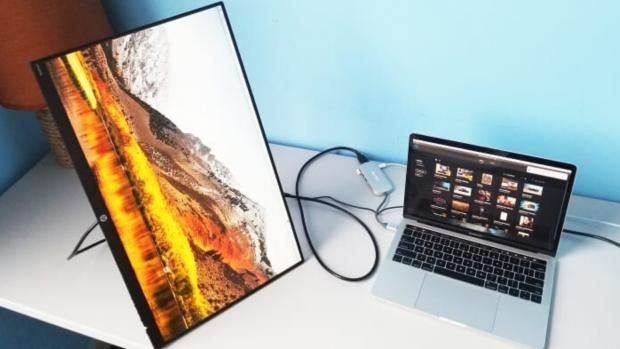 The Argus: A second monitor can help you work in multiple documents. (Photo: Reviewed / Lee Neikirk)