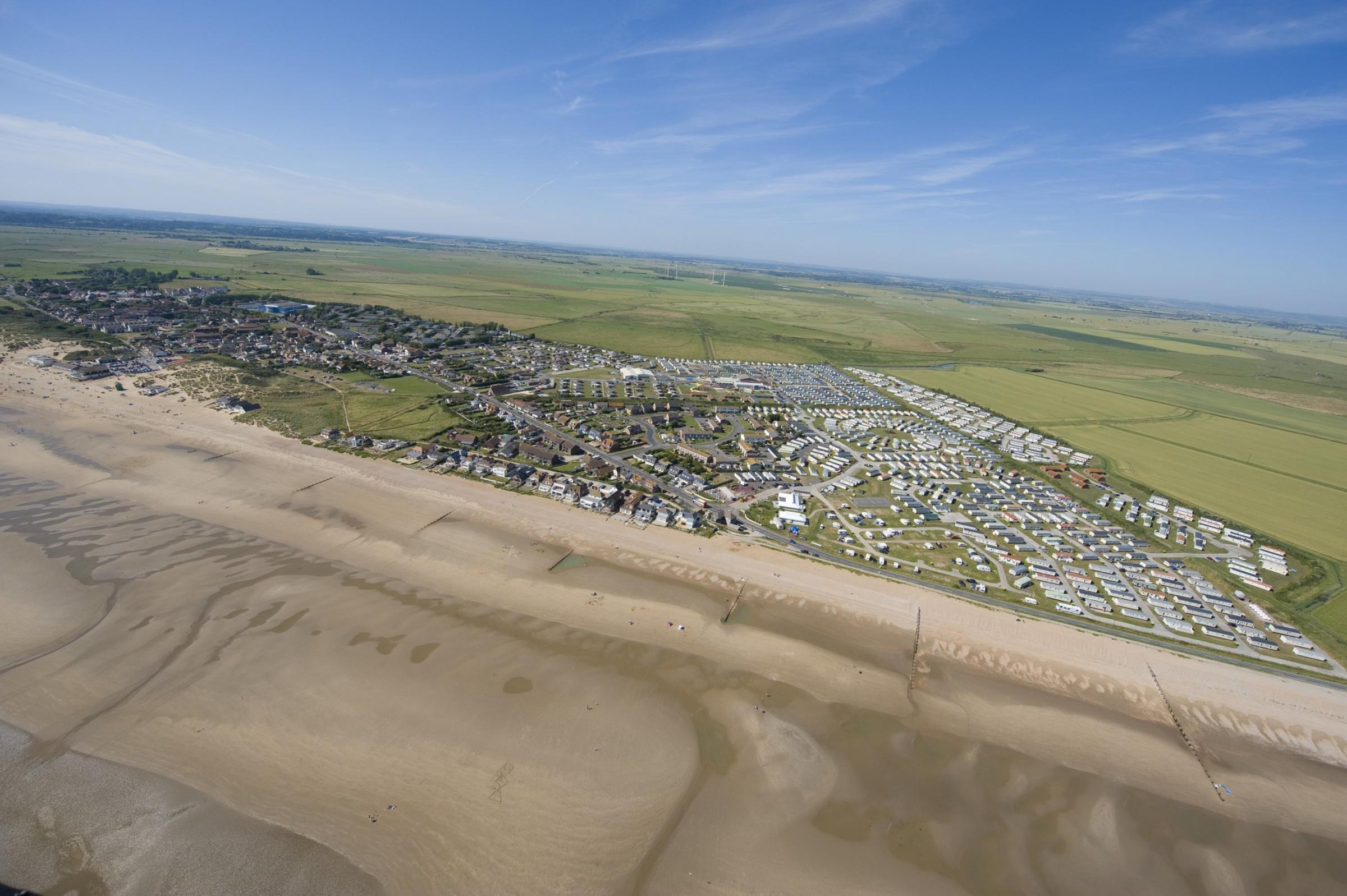 Aerial of Rother by Jason Hawkes.