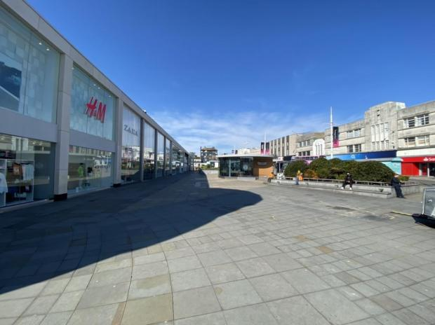 The Argus: An empty Brighton during the first coronavirus lockdown