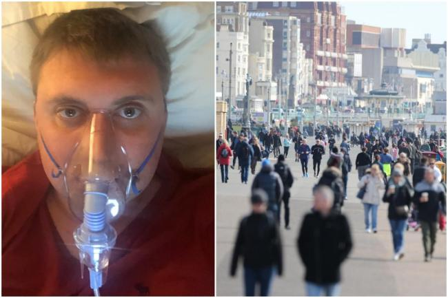 'Please stay at home' - NHS worker's plea as the number of people at high risk in Brighton is revealed