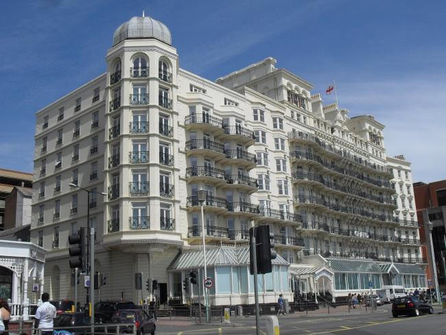 The Grand hotel in Brighton has closed