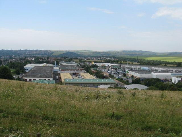 Hollingbury Industrial Estate where MPB's warehouse is based. Photo: Dave Spicer