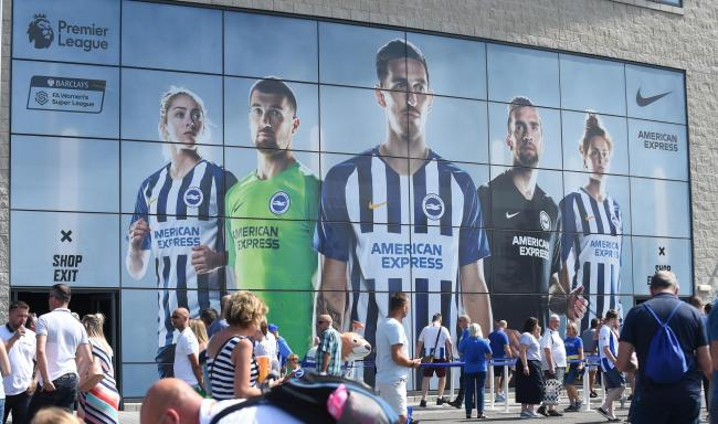 Albion are looking forward to getting back to the Amex