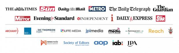 The Argus: CAMPAIGN: Newsquest Media Group has backed a nationwide campaign supported by news publishers including Archant, DC Thomson Media, JPI Media and Reach.
