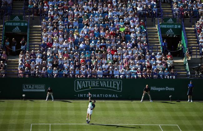 Centre court at Eastbourne