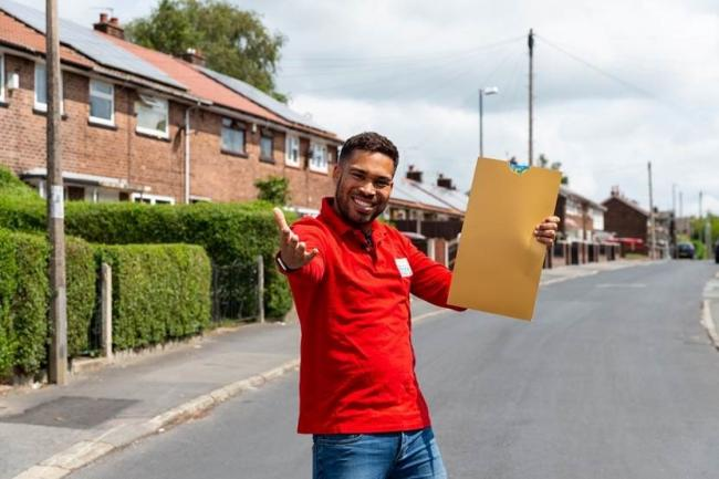 People's Postcode Lottery ambassador Danyl Johnson in Sheepbell Close, Portslade