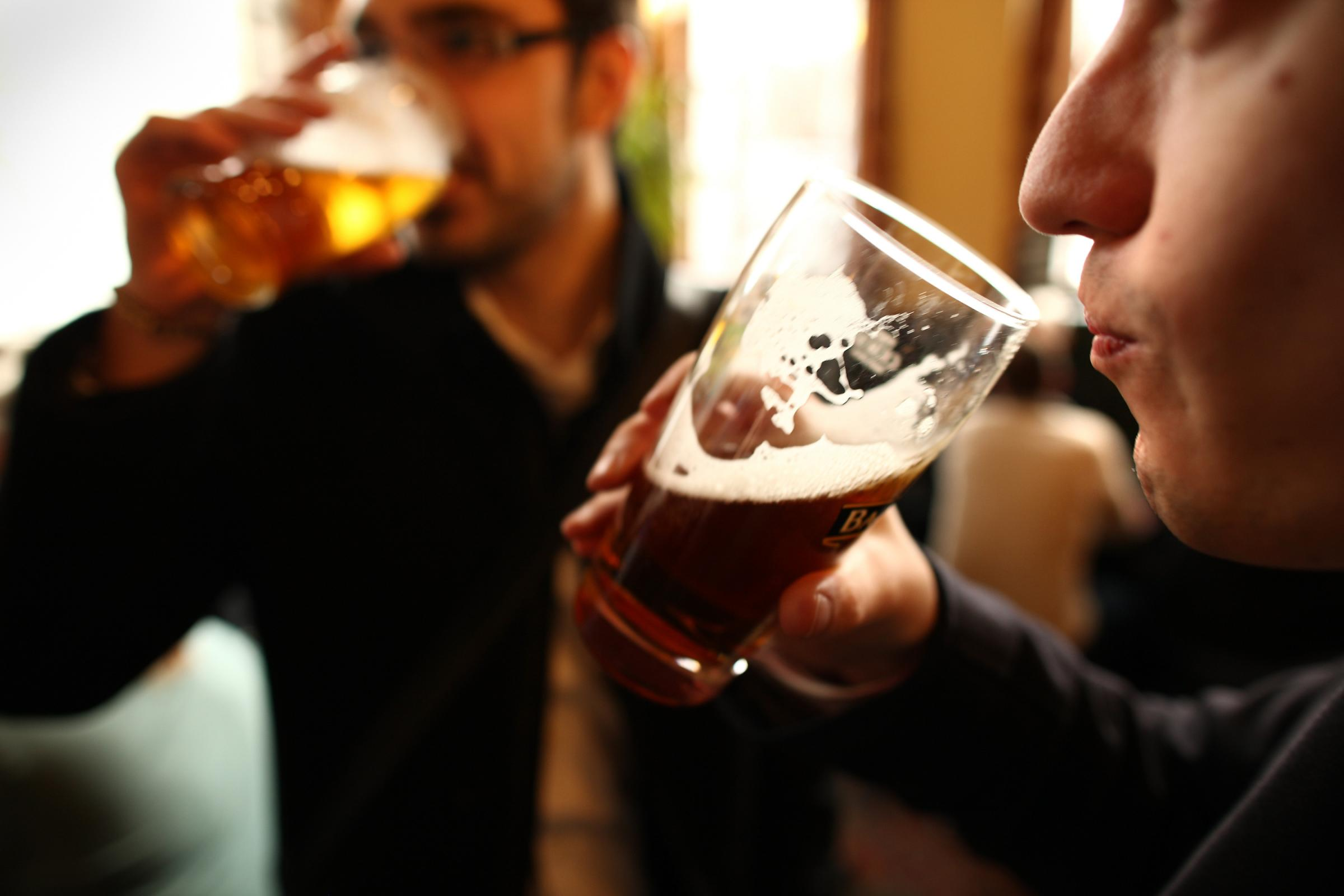 Drinkers might be able to enjoy a pint in a pub without a substantial meal
