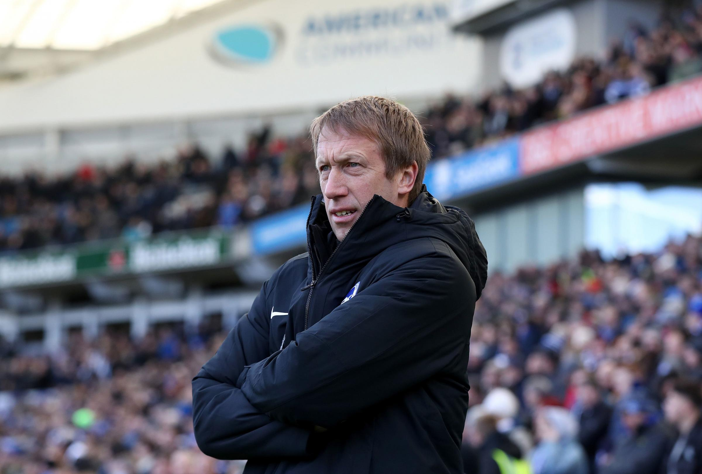 Graham Potter ready for training but unsure of how it will progress