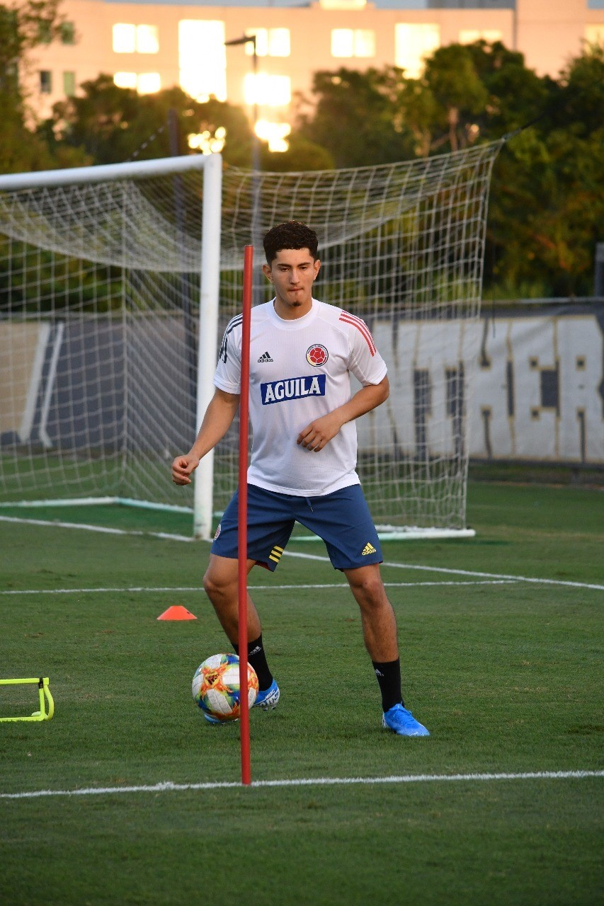 Steven Alzate hopes for Colombia chance