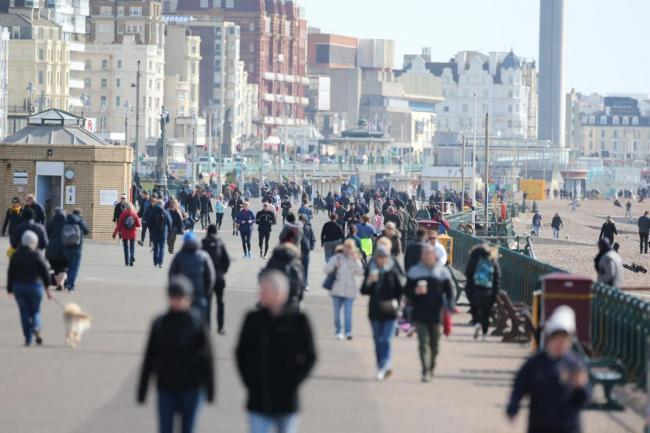 There has been a dramatic increase in coronavirus cases in Brighton and Hove