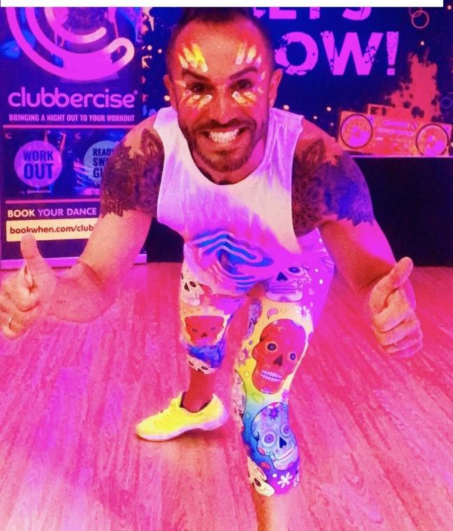 Clubbercise intructor Richard Tittensor