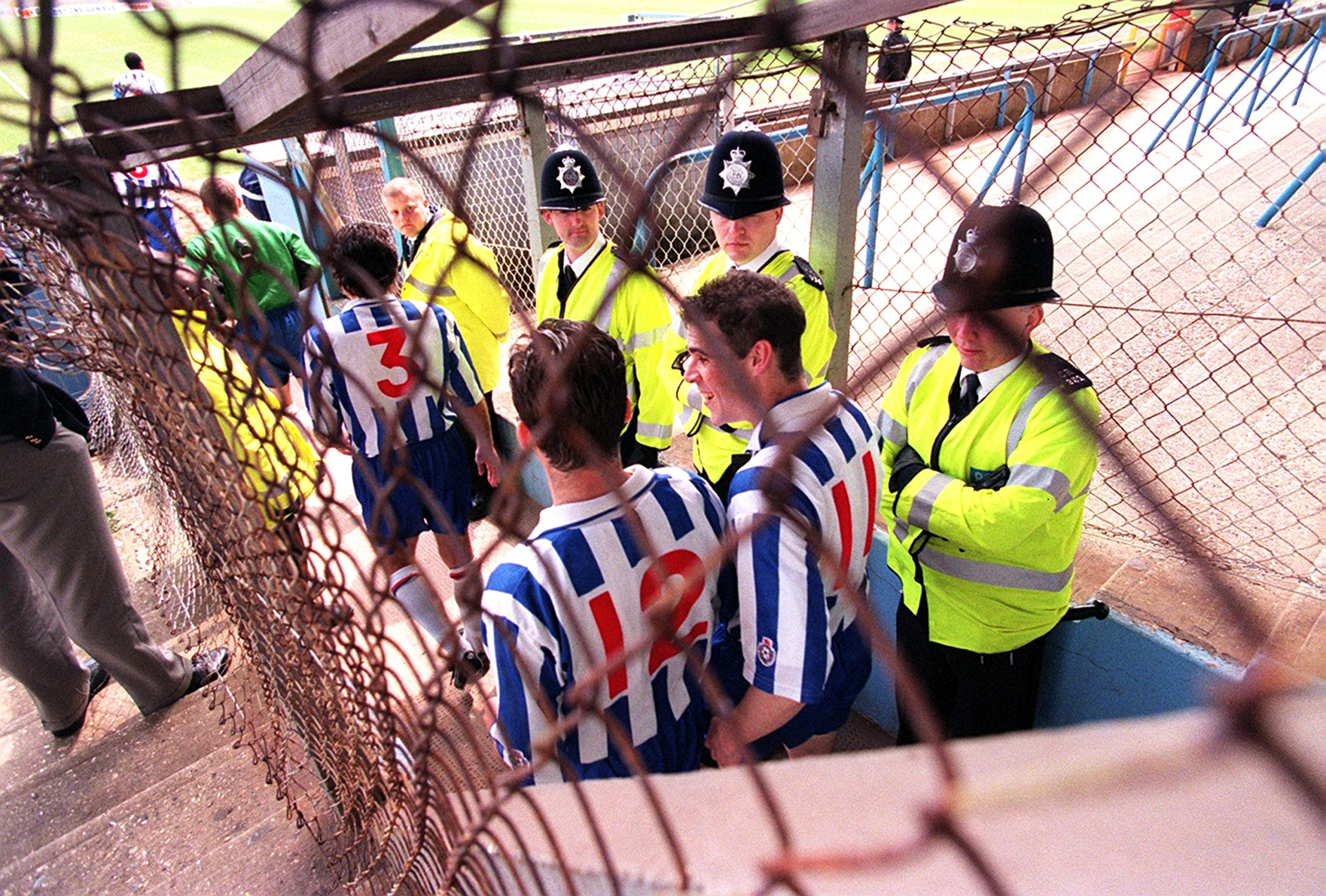 Playing behind closed doors will be an Albion first
