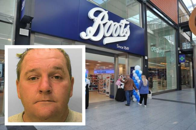Justin Goulding has been jailed for stealing from Boots