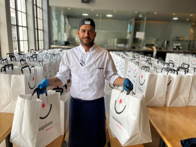 Wagamama will reopen 67 of its restaurants for delivery