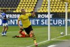 Erling Harland kicked things off with an early goal for Dortmund on the Bundesliga's return