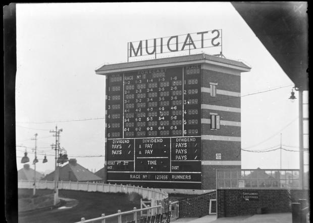 The Argus: The tote board in 1938. Photo: East Sussex Record Office/The Keep