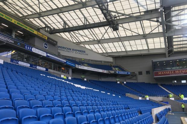 Albion are returning to the Amex
