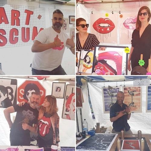 Enter Gallery's Art Yard Sale in Brighton has been postponed this year due to the coronavirus - so instead it is auctioning off limited edition prints and donating the proceeds to Survivors Network