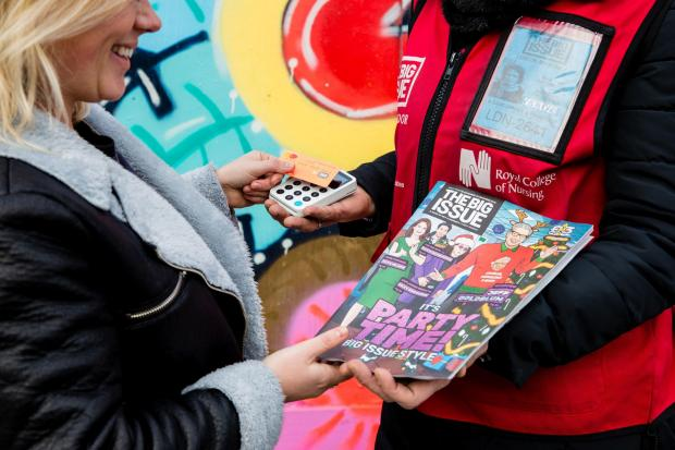 The Argus: The Big Issue has been supporting its vendors while they remain at home