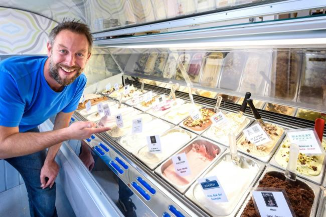 Seb Cole from Boho Gelato – some Picture credit: Julia Claxton