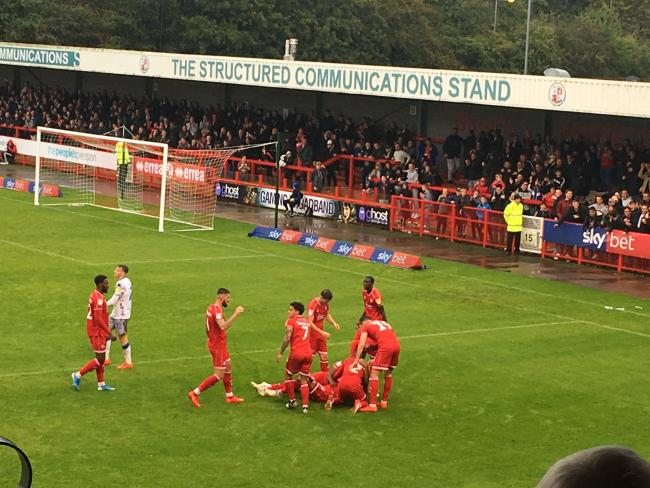 Crawley are set to welcome back fans