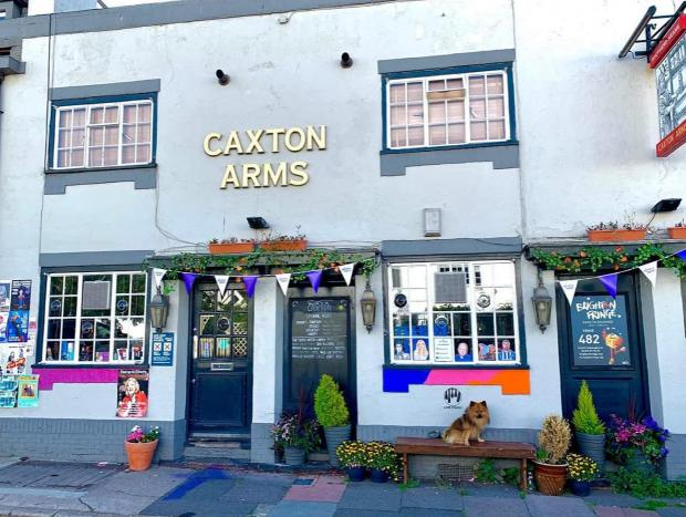 The Argus: The Caxton Arms in North Gardens, Brighton