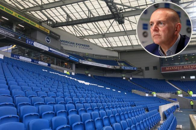 Paul Barber wants to see fans back at the Amex