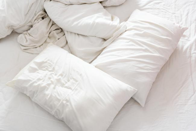 How to clean your pillows, because they are full of dead dust mites