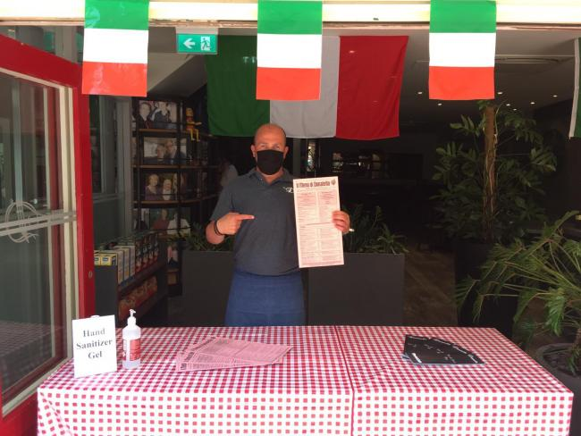 Donatello is ready to serve up takeaway pasta and pizza in the Lanes