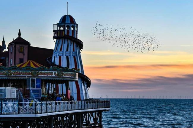 Brighton Palace Pier has announced when it will reopen as lockdown measures are eased Credit Gemma Maynard of the The Argus Camera Club.